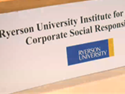 Thumbnail Image - Ryerson CSR Institute talk, Dec. 13, 12 noon to 2 pm