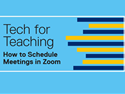 How to Schedule Meetings in Zoom (6:26)
