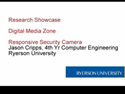 Thumbnail Image - Ryerson Research Showcase - DMZ Responsive Security Camera