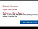 Thumbnail Image - Ryerson Research Showcase -  DMZ Collision Avoidance System