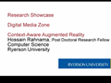 Thumbnail Image - Ryerson Research Showcase - DMZ Context-Aware Augmented Reality
